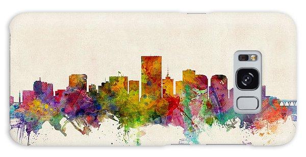 Watercolour Galaxy Case - Richmond Virginia Skyline by Michael Tompsett