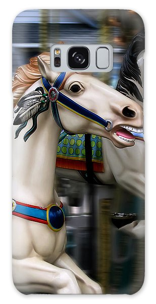 Ride A Painted Pony Galaxy Case
