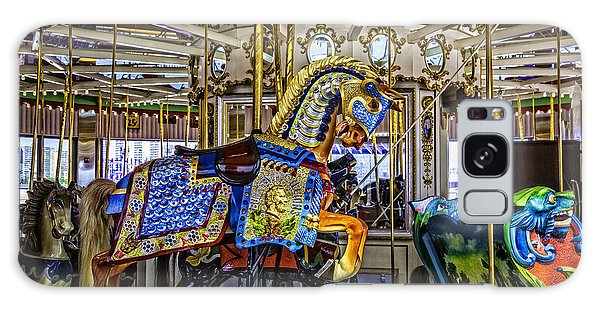 Ride A Painted Pony - Coney Island 2013 - Brooklyn - New York Galaxy Case by Madeline Ellis