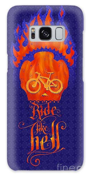 Skull Galaxy Case - Ride Like Hell by Sassan Filsoof