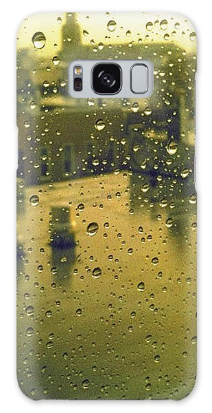 Ridgewood Wet With Rain St Matthias Roman Catholic Church Galaxy Case