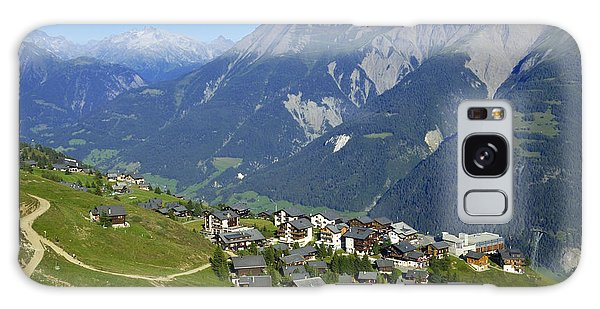 Riederalp Valais Swiss Alps Switzerland Galaxy Case by Matthias Hauser