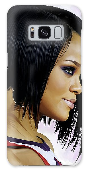 Rihanna Artwork Galaxy S8 Case