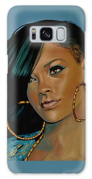 Rihanna Painting Galaxy S8 Case