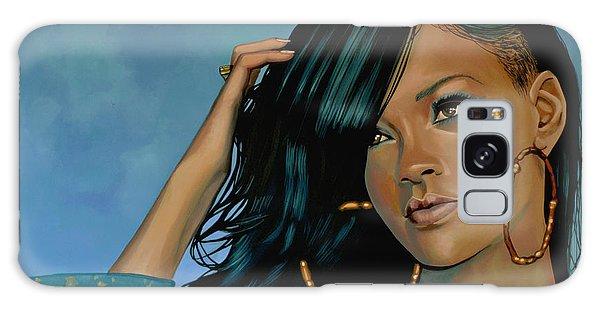 Cd Galaxy Case - Rihanna Painting by Paul Meijering