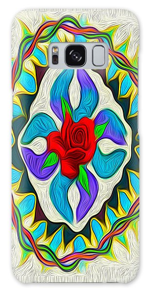 Ring Around The Rose Galaxy Case by Gregory Dyer