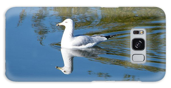 Galaxy Case featuring the photograph Ring-billed Gull by Ann E Robson
