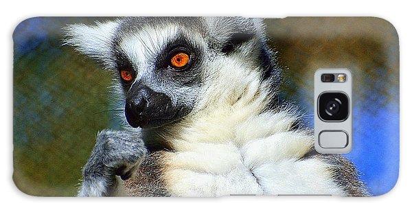 Ring-tailed Lemur Galaxy Case by Lisa L Silva