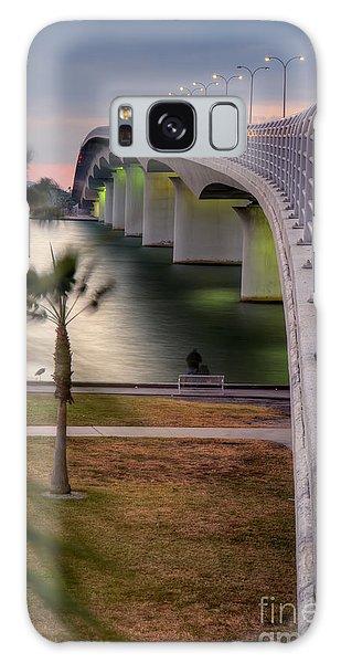 Ringling Causeway Bridge Overlook Galaxy Case