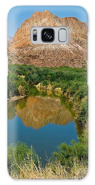 Galaxy Case featuring the photograph Rio Grand by Mae Wertz
