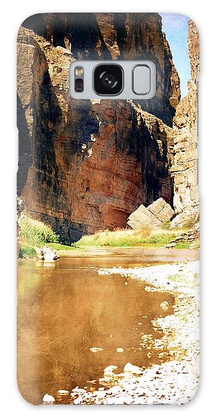 Rio Grande At Santa Elena Canyon Galaxy Case