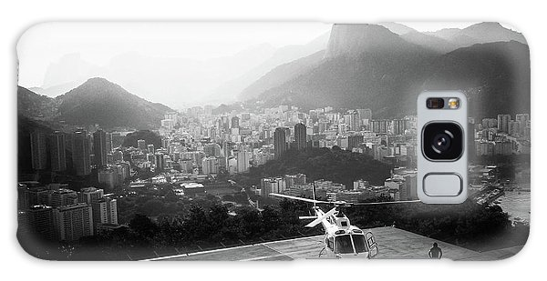 Helicopter Galaxy Case - Rio by Marco Virgone
