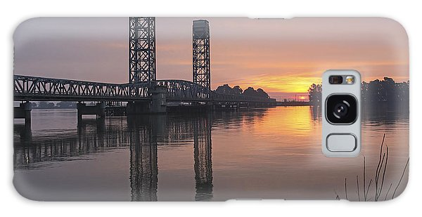 Rio Vista Bridge Galaxy Case