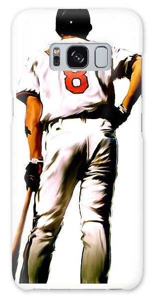 Ripken II   Cal Ripken Jr Galaxy Case by Iconic Images Art Gallery David Pucciarelli