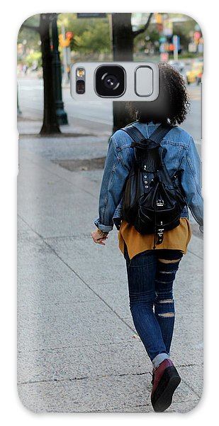 Ripped Jeans On The Run Galaxy Case