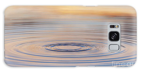 Ripples On A Still Pond Galaxy Case