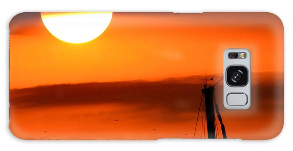 Rise And Shine Galaxy Case by Deena Stoddard