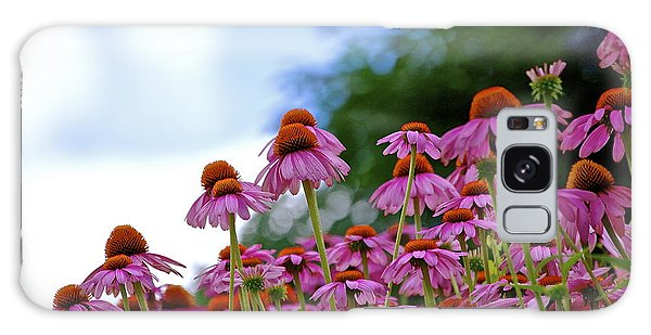 Rising Echinacea Galaxy Case