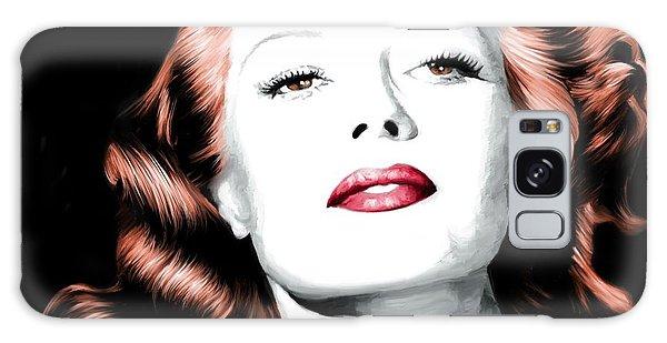 Rita Hayworth Large Size Portrait Galaxy Case