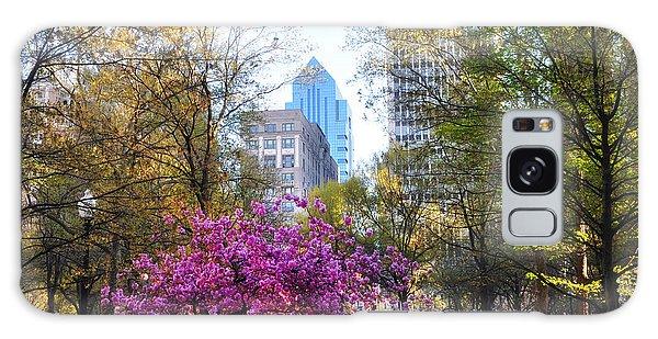 Rittenhouse Square In Springtime Galaxy Case