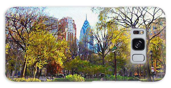Rittenhouse Square In The Spring Galaxy Case