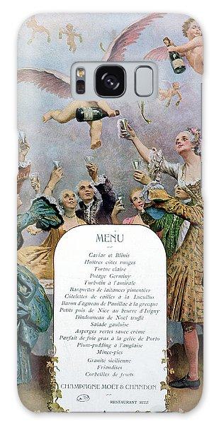 Ritz Restaurant Menu Galaxy Case