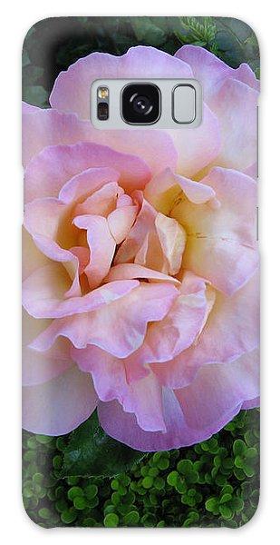 Ritzy Pink Rose Galaxy Case