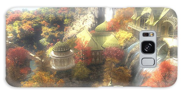 Elf Galaxy Case - Rivendell by Cynthia Decker