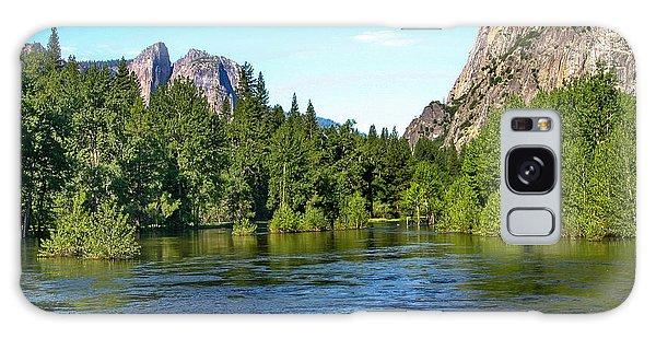 Yosemite National Park Galaxy Case by Menachem Ganon