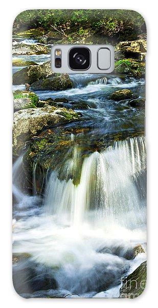 River Galaxy Case - River Flowing Through Woods by Elena Elisseeva