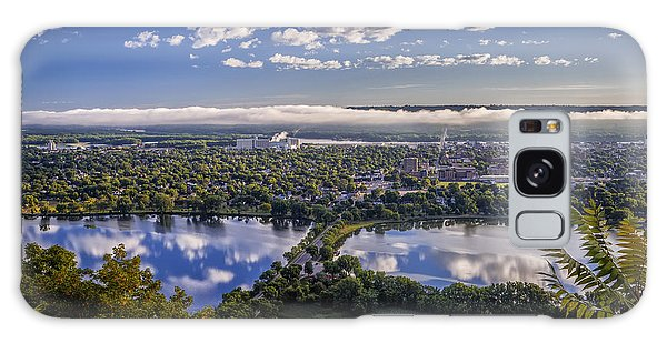 River Fog At Winona Galaxy Case
