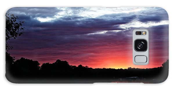 River Glow Galaxy Case by Dave Files