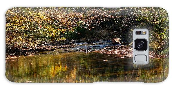 River In Autumn Galaxy Case by Lisa L Silva