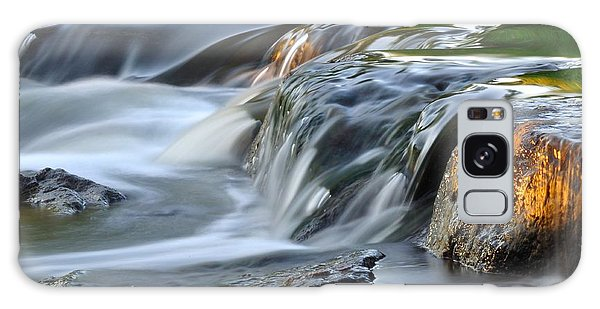 River In Slow Motion Galaxy Case by Todd Soderstrom
