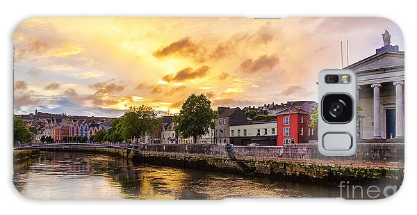 River Lee In Cork Galaxy Case by Daniel Heine