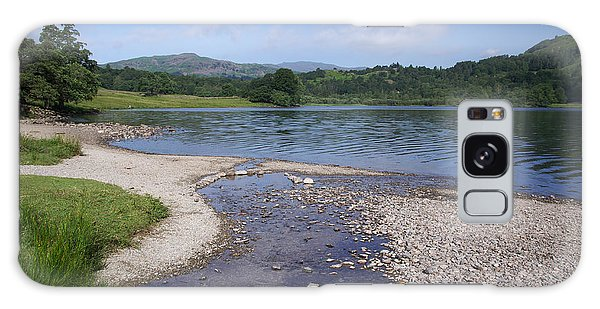 River Meets The Lake Rydal Water Galaxy Case by Graham Hawcroft pixsellpix