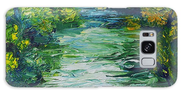 River Painting Galaxy Case