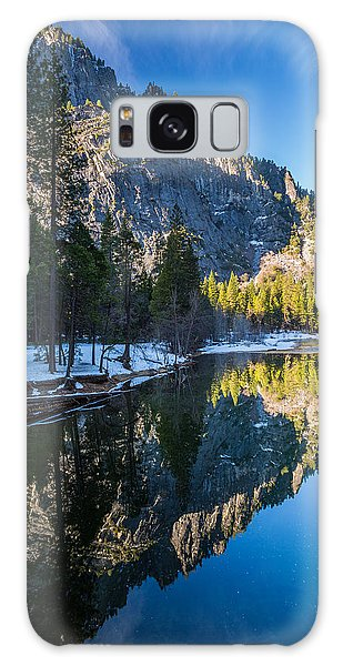 River Reflections Galaxy Case by Mike Lee