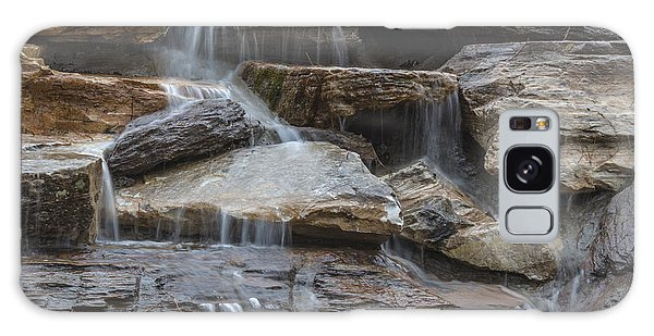 River Rock Waterfall Galaxy Case