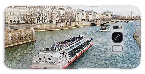 River Seine Excursion Boats Galaxy Case