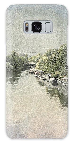 River Seine In Paris Galaxy Case