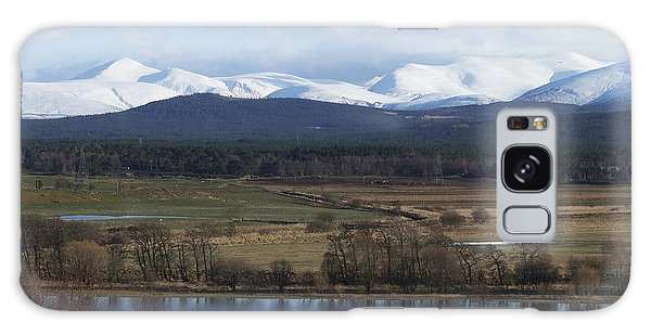 River Spey And Cairngorm Mountains Galaxy Case by Phil Banks