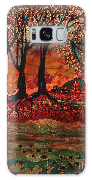 River Sunrise - Lothlorien Galaxy Case