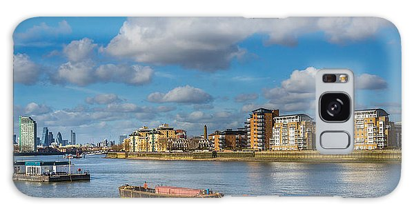 River Thames At Greenwich Galaxy Case