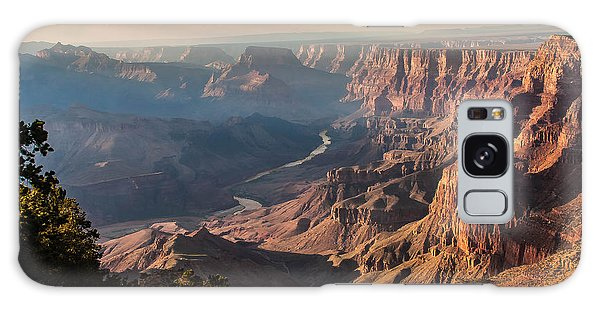 River Through Grand Canyon Galaxy Case