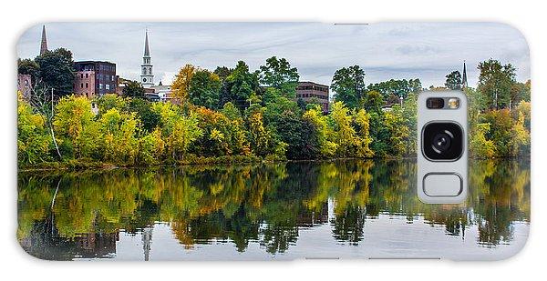 River View Of Brattleboro Vermont Galaxy Case