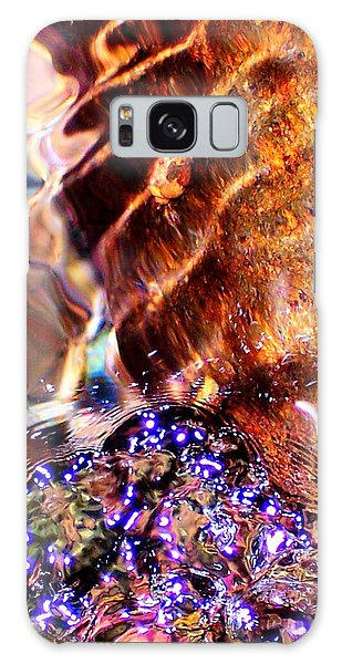 River Water Abstract Galaxy Case by Peter Mooyman