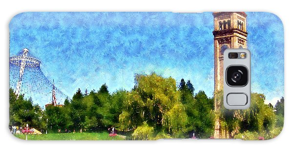 Riverfront Park Galaxy Case by Kaylee Mason