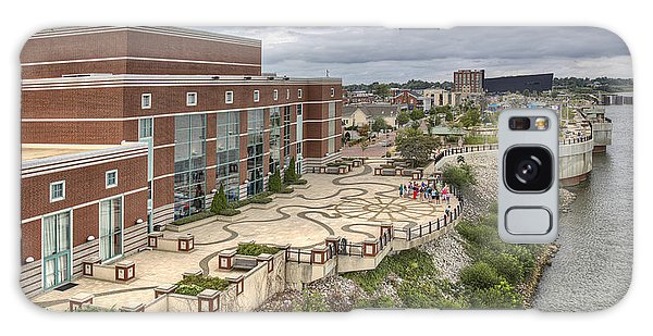 Riverpark Center And Smothers Park Owensboro Ky Galaxy Case by Wendell Thompson