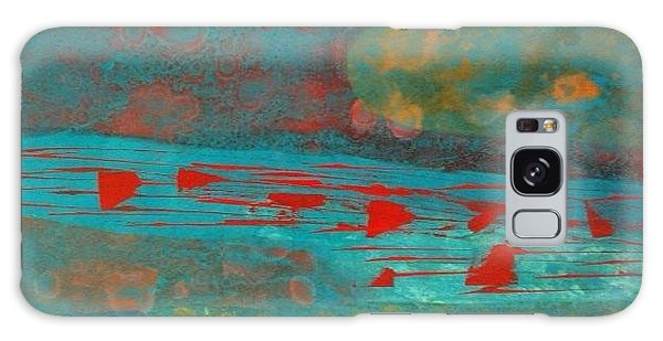 Rivers And Prayers Galaxy Case by Theresa Kennedy DuPay